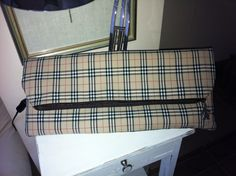 Burberry clucth handmaded by me