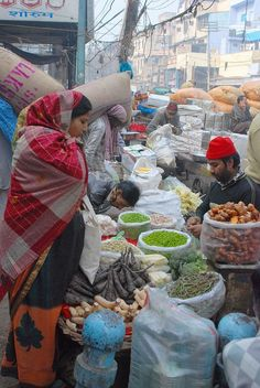 Khari Baoli, the Old Delhi spice market