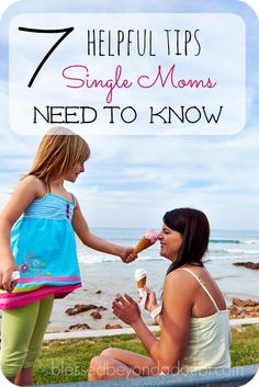 Practical single mom tips and advice that can make a difference.