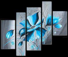 fr – La plus grande galerie d'art en France – ThePins Multiple Canvas Paintings, Leaf Art, Wall Art Designs, Fabric Painting, Flower Art, Canvas Wall Art, Modern Art, Artwork, Luxor