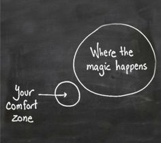 True True!!!  Get out of your comfort zone and do something special!
