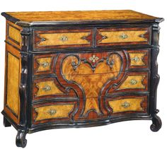 Sarreid LTD. Chest of Five Drawers by Encore IHF