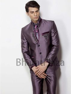 I'm not going to lie... this one is totally just for me. #Bollywoodprincerealness  Courtesy: http://galleryhip.com/wedding-suits-purple.html
