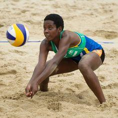 Rwanda team qualified for the 2017 FIVB Beach Volleyball World Championships Fivb Beach Volleyball, Volleyball Tryouts, World Championship, World Cup