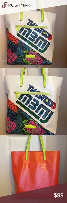 MARC by Marc Jacobs Luna Tarp Fergus Tote Bag Pre-owned has signs of wear. Marc by Marc Jacobs Bags Totes