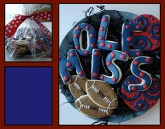 Ole Miss cookies from The Painted Cookie - how cute are these?!