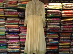 The Perfect Kalidaar! Intricate Aari work Anarkali.