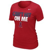 New Arrival: Nike Los Angeles Angels of Anaheim Ladies Can't Hit on Me Slim Fit T-Shirt