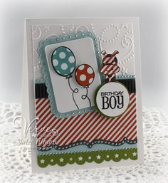 Birthday Boy by Vervegirl - Cards and Paper Crafts at Splitcoaststampers