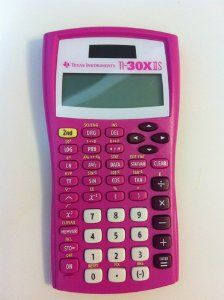 Amazon.com: Texas Instruments TI-30X IIS 2-Line Scientific Calculator, Pink: Electronics // for your nerdy kid who loves math and pink! perfect -pixypi