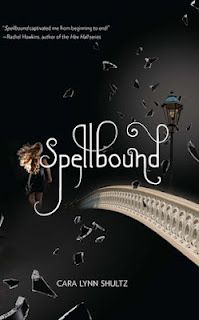 Spellbound (Spellbound #1) by Cara Lynn Shultz: When prep school newcomer Emma Conner meets the rich, charming Brendan Salinger, she is instantly attracted to him, but strange visions of her past lives begin warning her to stay away or face a cursed prophecy that she will die.