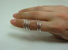 Sterling Silver RA Splint - Rheumatoid Arthritis Splint - Wrap Around Arthritis Splint