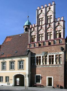 old Town Hall in Środa Śląska, Poland Ghost City, The Beautiful Country, Central Europe, Gothic Architecture, Romanesque, Town Hall, Eastern Europe, Old Town, Poland