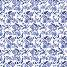 Geninne - Moody Blues - Floral in White