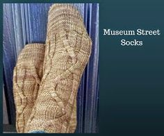 Toe-up cabled socks. Much easier than they look! http://www.ravelry.com/patterns/library/museum-street-socks