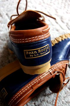 72765d9a8b7c bean boots we called you duck boots. i had a red pair   a blue