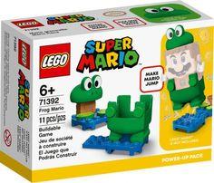 Lego Mario, Lego Super Mario, Mario Bros., Luigi, Building For Kids, Building Toys, Lego Sets, Frog Costume, Construction Lego