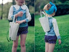 Easter Back Pack from HandMade Charlotte   Sewing Secrets - A Blog by Coats & Clark