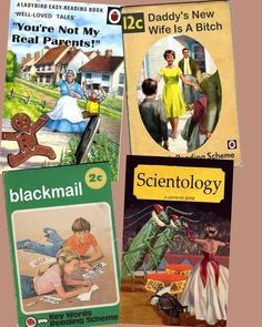 Childhood books of yesteryear.