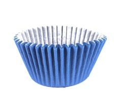 Forminha para Cupcake Azul Royal 45unid