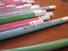 Better Together Pencil