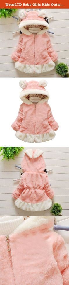 """WensLTD Baby Girls Kids Outwear Clothes Winter Jacket Coat Snowsuit Clothing (3T, pink). 100% Brand New And High Quality Fabric Type: Cotton Style:Occident Suitable for season: Autumn winter Clothing Length:Regular Sleeve Length:Long Sleeve Thickness: Thick Gender:Baby Girl Item Type: Outerwear & Coats Package include:1PC Girl Coat Size:2T Label Size:6 Bust:64cm/23.6"""" Sleeve:30cm/11.8"""" Length:40cm/15.8"""" Height:100CM Size:3T Label Size:8 Bust:68cm/26.8"""" Sleeve:33cm/12.9"""" Length:43cm/16.9""""..."""