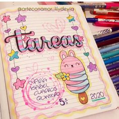Card Drawing, Book Drawing, Bullet Journal Writing, Bullet Journal Ideas Pages, Lettering Styles, Hand Lettering, Bullet Journal Embellishments, Android Wallpaper Anime, Banners