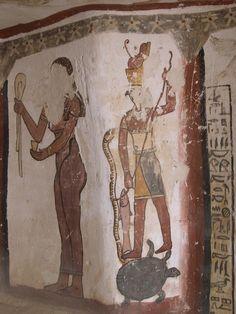 Paintings from the tomb of Petosiris at Muzawaka (XLV) | by isawnyu