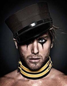 punk male makeup - Google Search