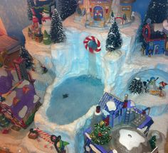 xmas village displays | Request a custom order and have something made just for you.