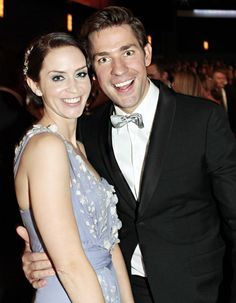 Emily Blunt & John Krasinski-- I totally fangirl over this couple Celebrity Couples, Celebrity News, John Krasinski Emily Blunt, John Krasinksi, Famous Couples, Celebs, Celebrities, Beautiful People, Gorgeous Men