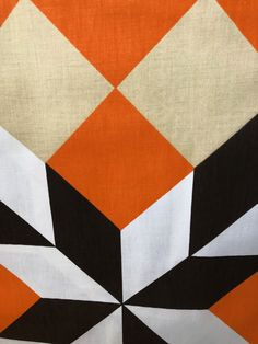 Funky Brown Spaceships and Rockets Printed Polycotton Fabric