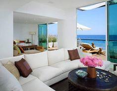 Malibu beach house interior design