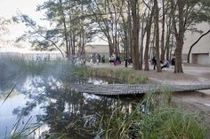 The Sculpture Garden at the National Gallery of Australia in Canberra | Human Brochure 2013 | Flickr - Photo Sharing!