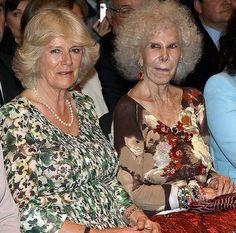 Camilla, Duchess of Cornwall and the Duchess of Alba.