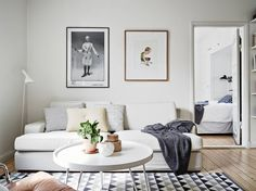 A very cool Swedish space (with a bike!) | The best scandinavian home design ideas! See more inspiring images on our boards at: http://www.pinterest.com/homedsgnideas/island-home-design-ideas/