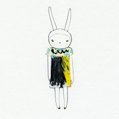 Love the most fashionable fifi lapin.   Fifi Lapin wears Antoni & Alison