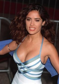 Salma Hayek Boobs. Because Salma Hayek is famous and Salma Hayek's boobs are equally as famous as her. Actually, her boobs are probably more famous than her because they are some serious boobs. Salma Hayek is packing some major boobage, don't even think twice about it. Fans w...