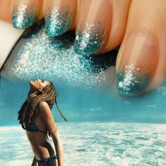 This could borderline on cheap or fabulous #nails