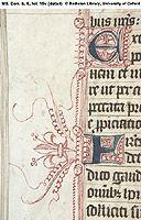 6 Missal, Use of Sarum ('The Closworth Missal') England; Illuminated Letters, Illuminated Manuscript, Monogram Fonts, Monogram Letters, Medieval Manuscript, Medieval Art, Book Of Kells, Wood Letters, Zentangle Patterns