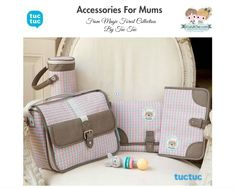 Cute #accessories for #mums from Magic Forest collection by #TucTuc.  Perfect baby gifts or baby shower gifts.   Shop at: www.kidsandchic.com/brands/tuc-tuc-accessories  #baby #babygift #shoppingbarcelona #bebe #regalobebe #niña #babyshowergift #compraonline #castelldefels #barcelona #tiendainfantil