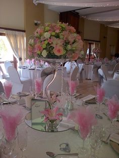 Guest Tables centerpieces