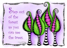 Step Out Of The Forest Digital Art by Debi Payne