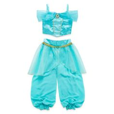 This beautiful Jasmine costume opens up a whole new world of playtime fun with a fun cameo, satin top and princess-worthy mesh layers. squareneck sleeveless Jasmine cameo mesh layers bodice: polyester/nylon pants: polyester hand wash, line dry imported Toddler Costumes, Girl Costumes, Toddler Outfits, Girl Outfits, Dance Costumes, Jasmine Costume Girls, Princess Jasmine Costume, Disney With A Toddler, Baby Disney