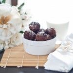 Chocolate, cranberry, pineapple Balls  (I think it should say 1/4 cup DRIED cranberries.)
