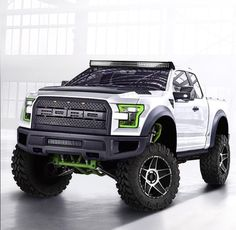 2017 Ford Raptor // Pretty truck, unfortunate that its a Ford Jeep Truck, Custom Trucks, Jacked Up Trucks, Cool Trucks, Pickup Trucks, Cool Cars, Jeep Pickup, Ford 2000, M Bmw