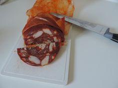 La ventricina, spécialité (assez piquante) des Abruzzes, en Italie.