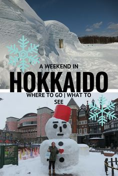 Hokkaido is Japan's northern island, and is a great place for snow lovers! Find out the best places to visit there to enjoy the winter scenery and sights!