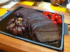 carne de sol com pimenta biquinho e alho, delícia!!!