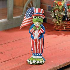 Patriotic Decorations | New Patriotic Mushrooms Garden Statues Yard Outdoor  Decor | EBay | Patriotic / Americana Decor | Pinterest | Garden Statues,  Outdoor ...